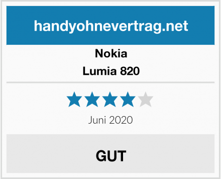 Nokia Lumia 820 Test