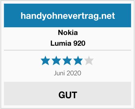 Nokia Lumia 920 Test