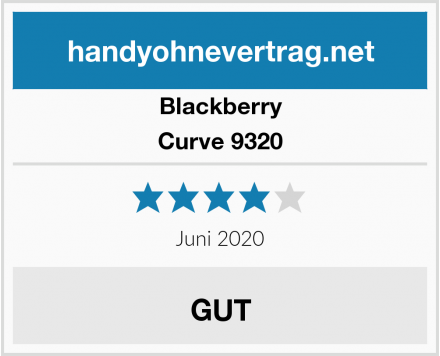 Blackberry Curve 9320 Test