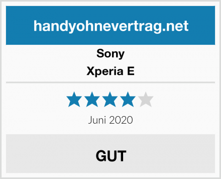 Sony Xperia E Test