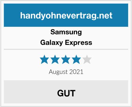 Samsung Galaxy Express Test