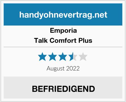 Emporia Talk Comfort Plus Test