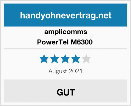 amplicomms PowerTel M6300  Test