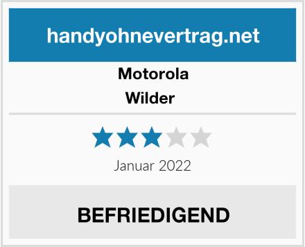 Motorola Wilder  Test
