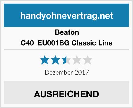 Beafon C40_EU001BG Classic Line Test