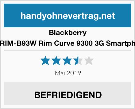 Blackberry BT-RIM-B93W Rim Curve 9300 3G Smartphone Test