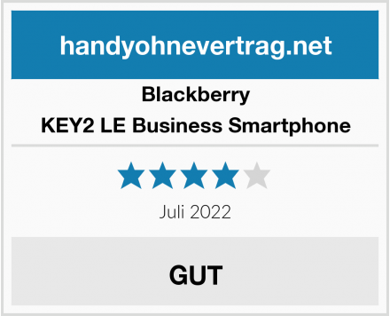 Blackberry KEY2 LE Business Smartphone Test