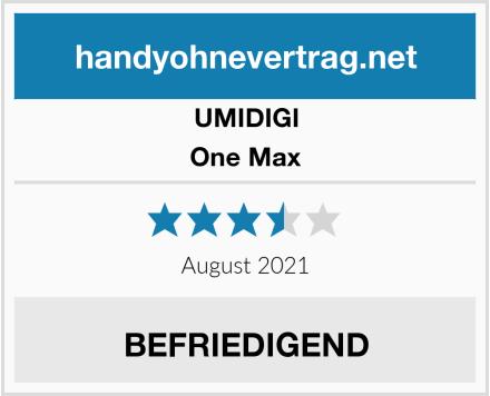 UMIDIGI One Max Test