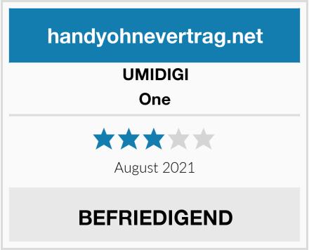 UMIDIGI One Test