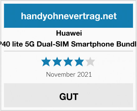 Huawei P40 lite 5G Dual-SIM Smartphone Bundle Test