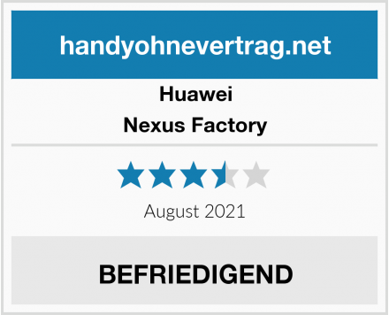 Huawei Nexus Factory Test
