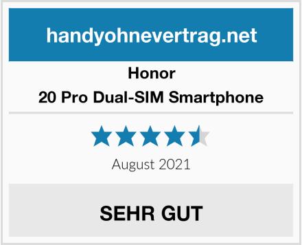 Honor 20 Pro Dual-SIM Smartphone Test