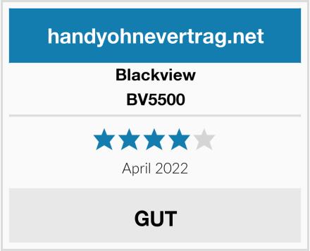 Blackview BV5500 Test