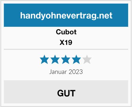 Cubot X19 Test