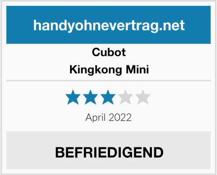 Cubot Kingkong Mini Test