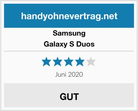 Samsung Galaxy S Duos Test
