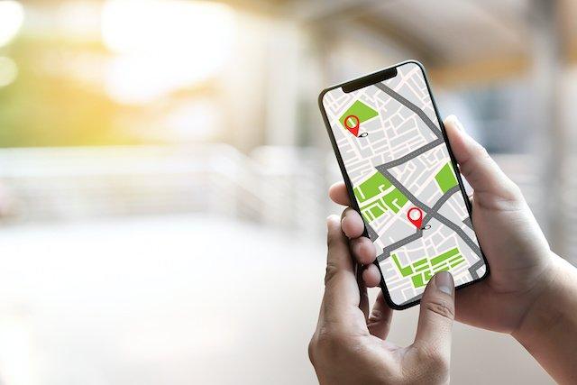 Smartphone als Navigation